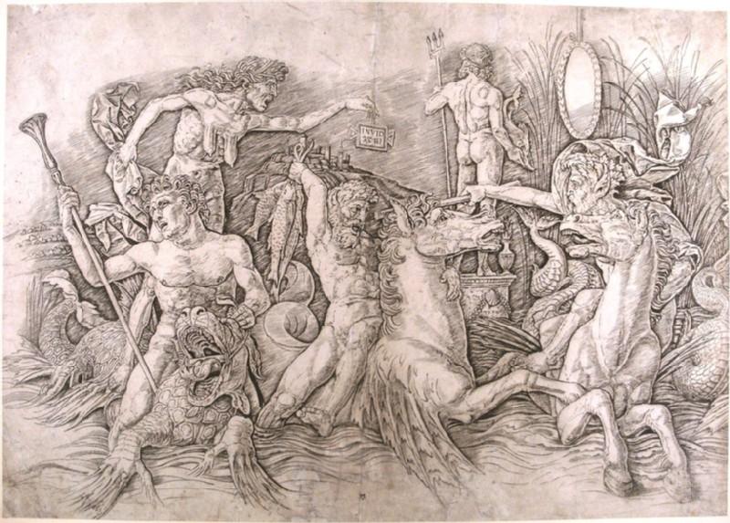 Battle of the Sea Gods (WA1863.1638, record shot)