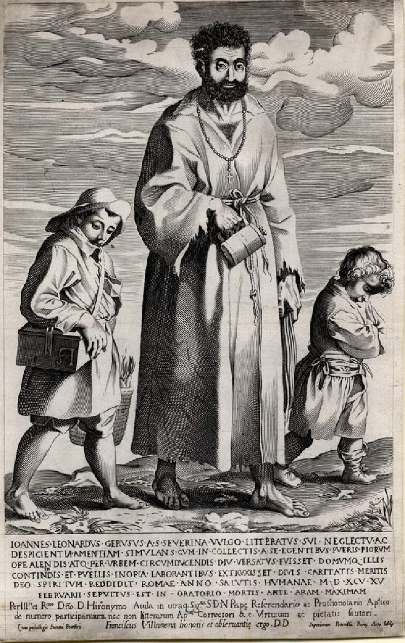Giovanni Leonardo Geruso, a mendicant friar (WA1863.5654, record shot)