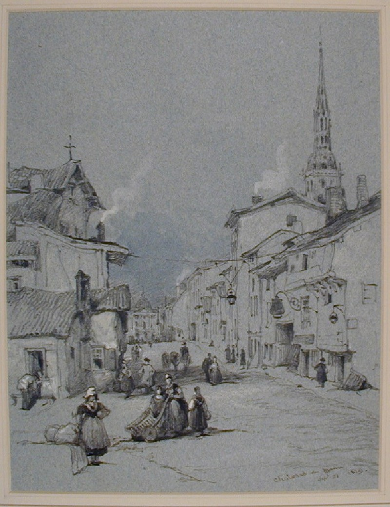 A Street in Châlons-sur-Marne