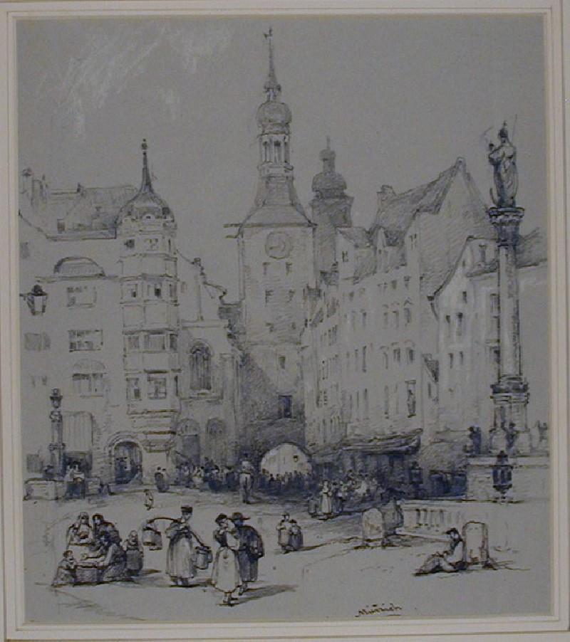 The Marienplatz, Munich