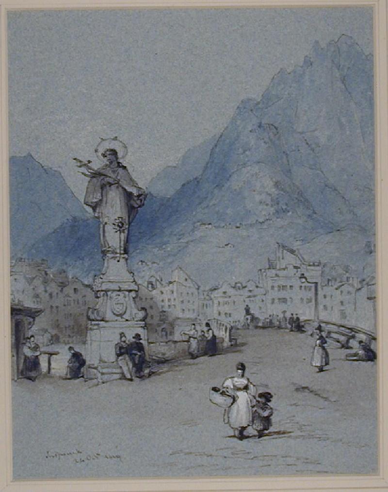A Monument at Innsbruck