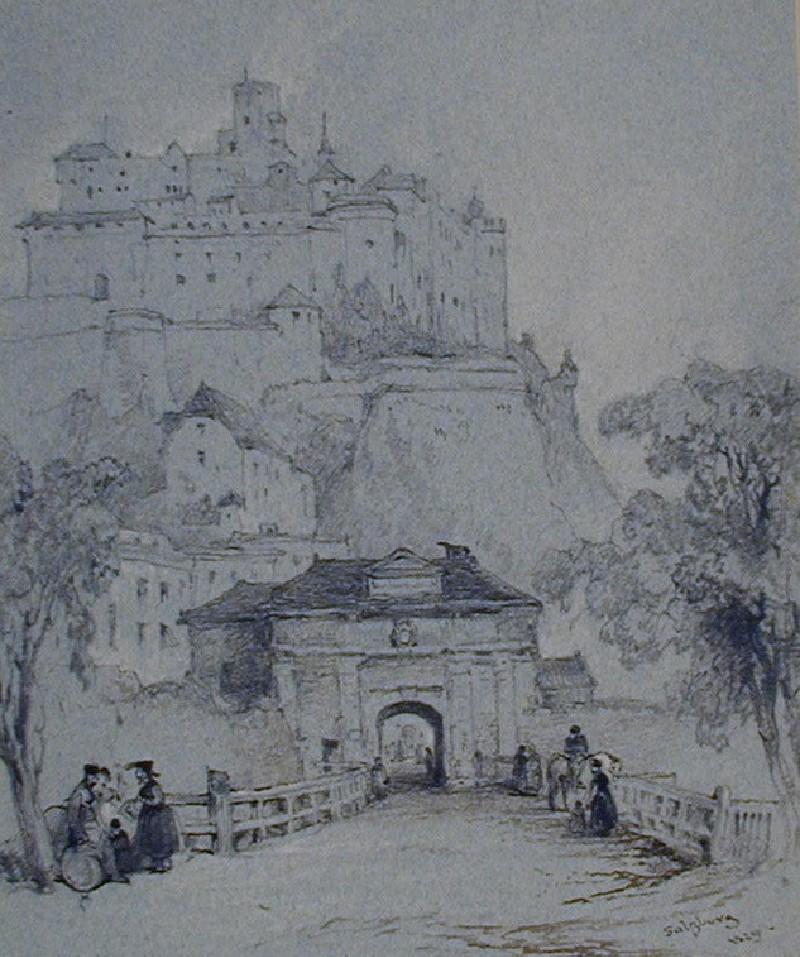 The Mönchsberg, Salzburg