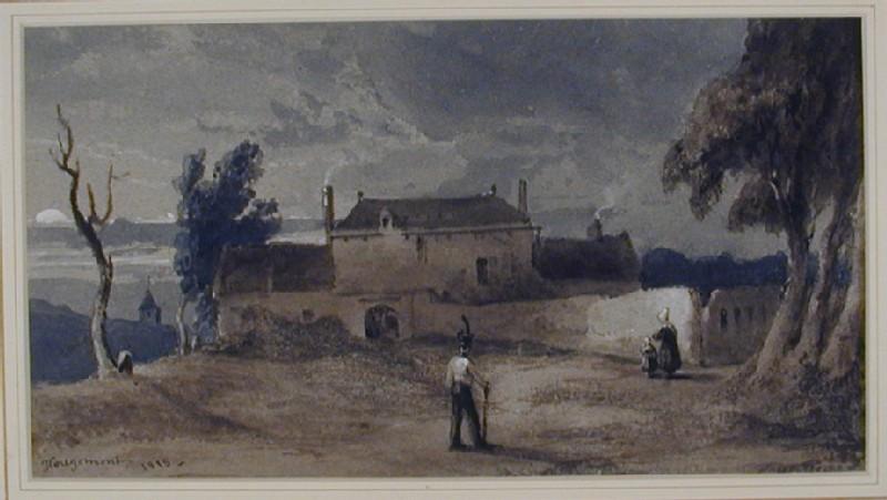 Château d'Hougoumont, Belgium