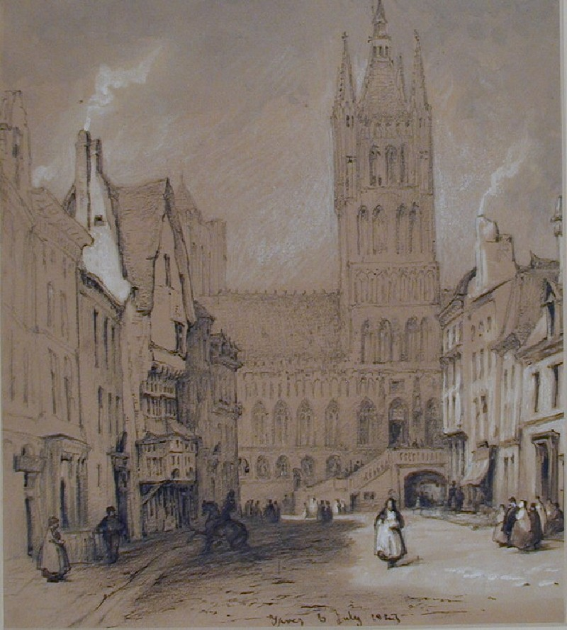 The Tower of the Linen Hall, Ypres