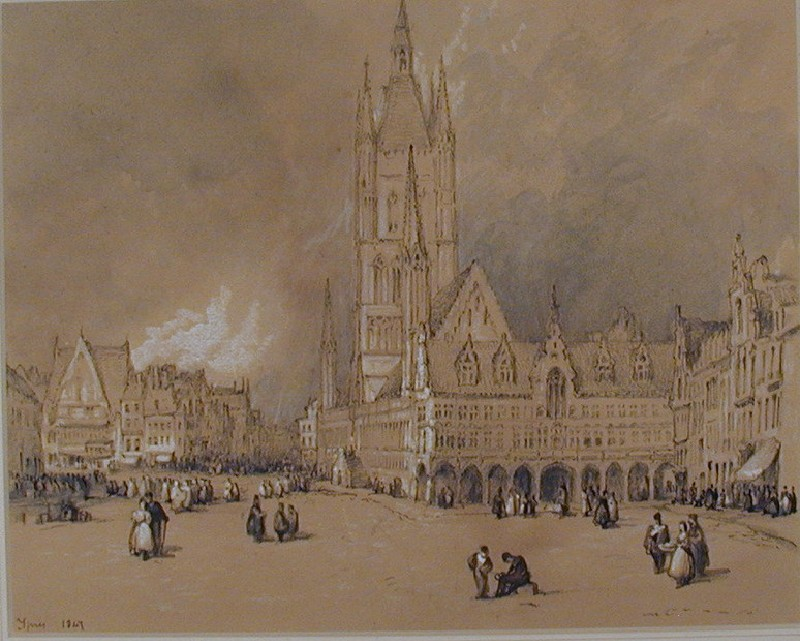 The Market Square, Ypres