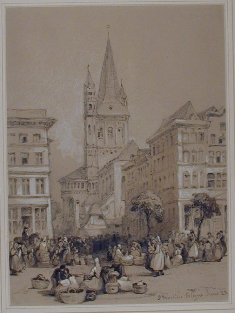 St Martin's, Cologne (WA1881.217, record shot)