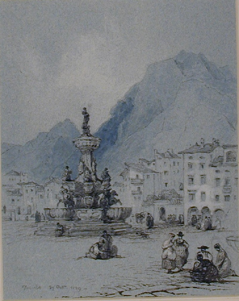The Fountain of Neptune, Trento