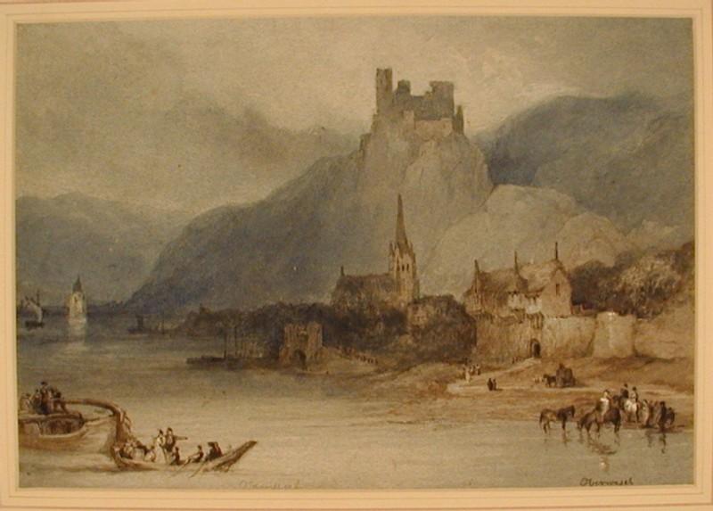 The Schönberg, Oberwesel, across the Rhine