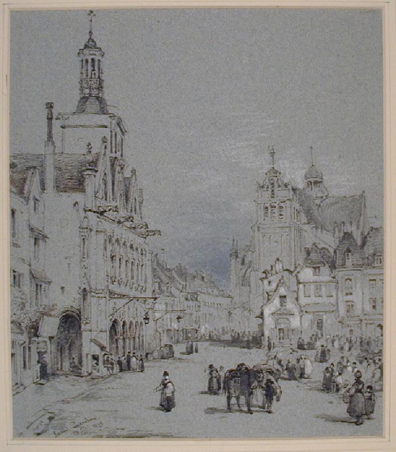 Place de l'Hôtel de Ville, Saint Quentin