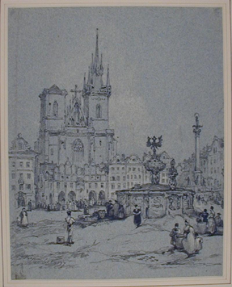Tyn Church, Prague