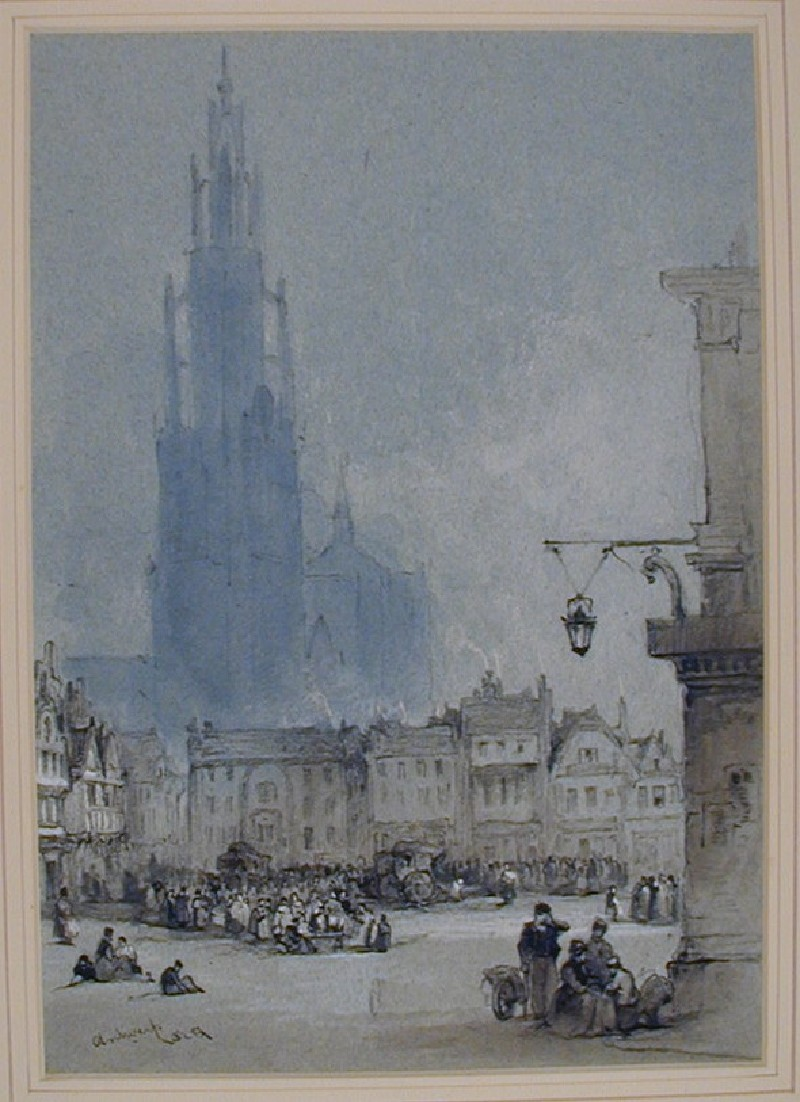 The Grand Place (Grote Markt) in Antwerp