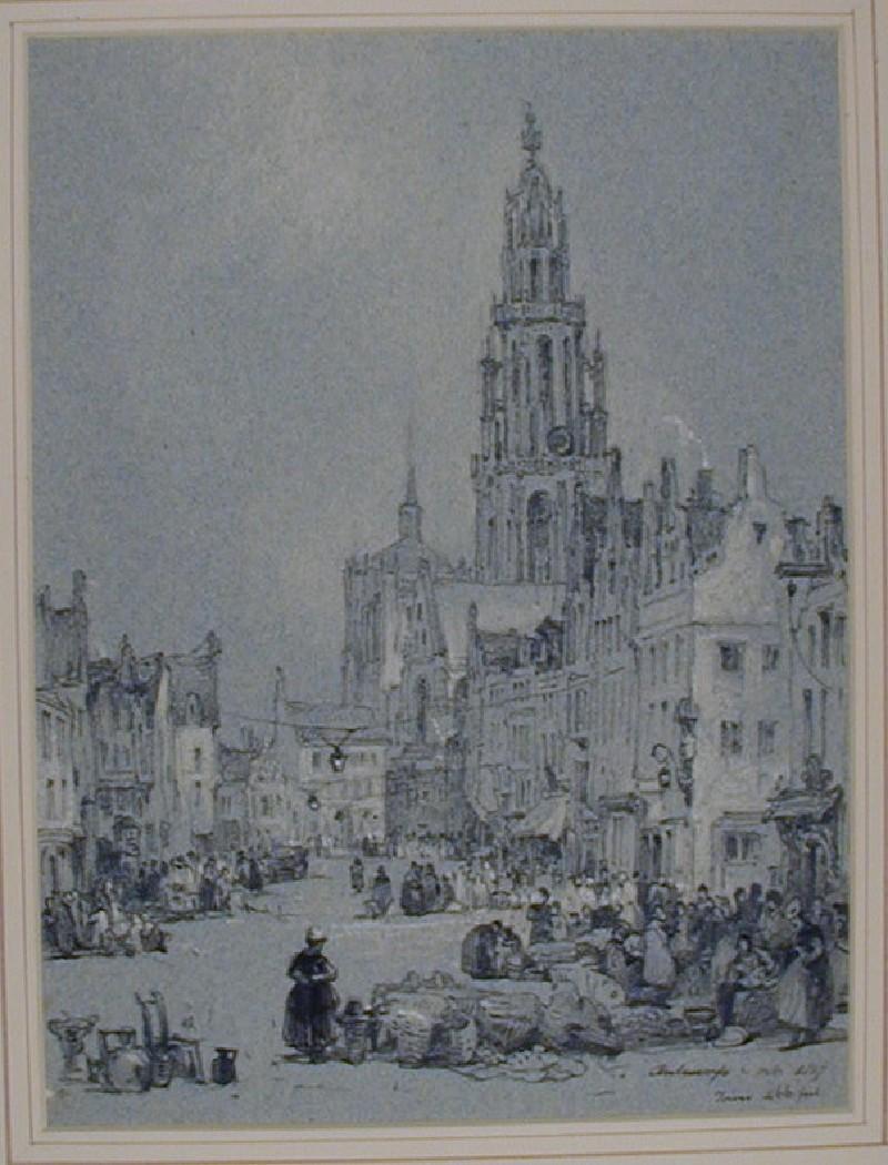 The Egg Market (Eiermarkt) in Antwerp