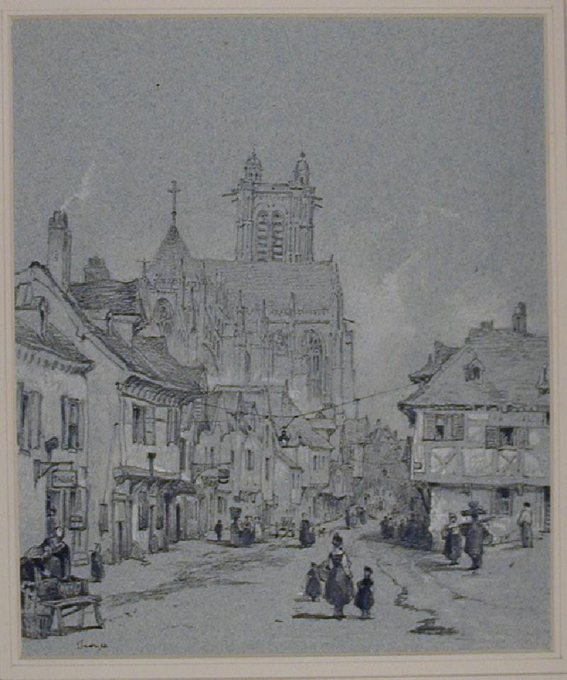 The Rue de la Cité, Troyes