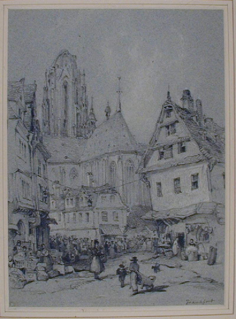 The Cathedral from the East, Frankfurt