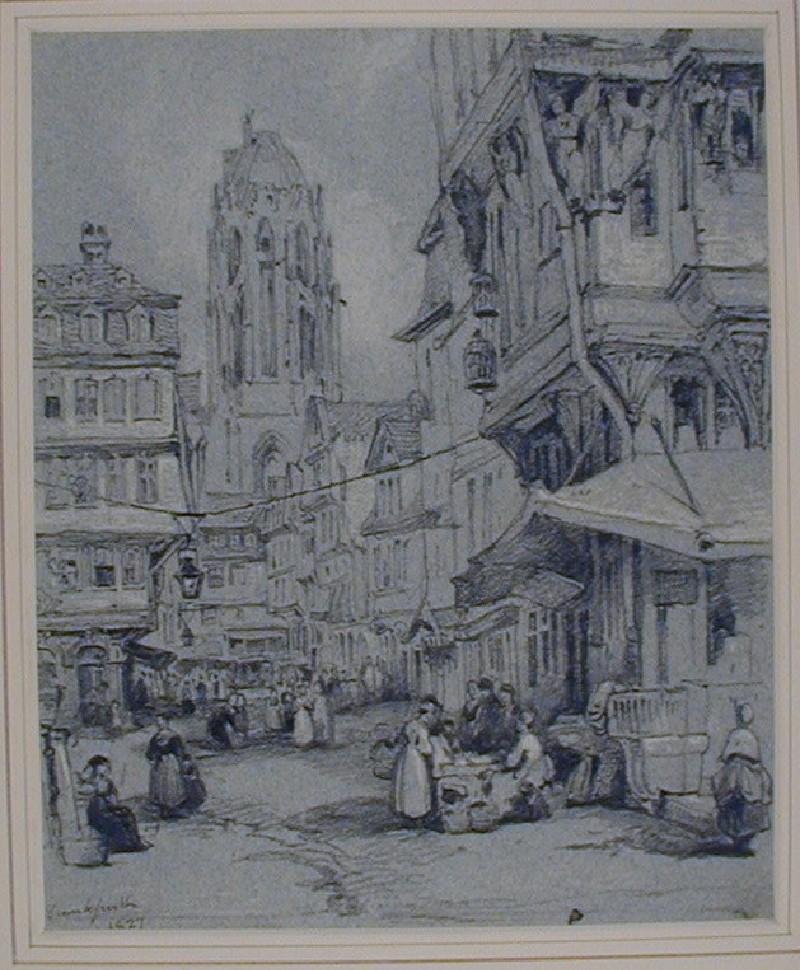 The Markt from Römerberg, Frankfurt