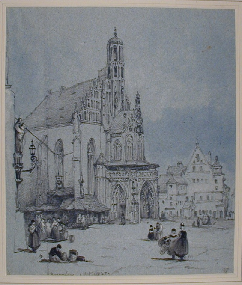 Frauenkirche, Nuremberg (WA1881.87, record shot)