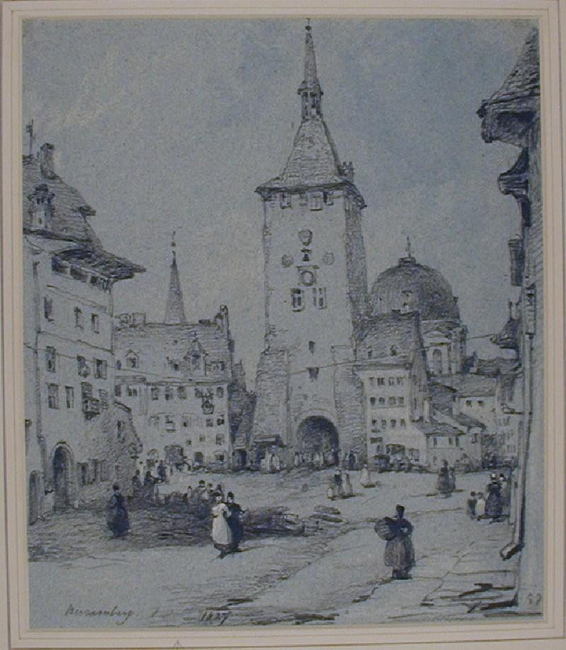 Ludwigstrasse, Nuremberg (WA1881.88, record shot)