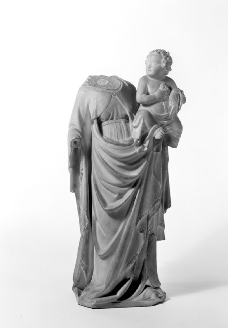 The Virgin and Child (WA1888.CDEF.S49, record shot)