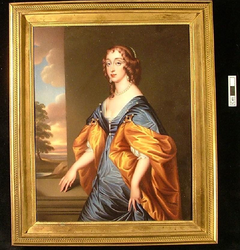 Portrait of Lady Mary Villiers, Duchess of Richmond (WA1897.126, record shot)