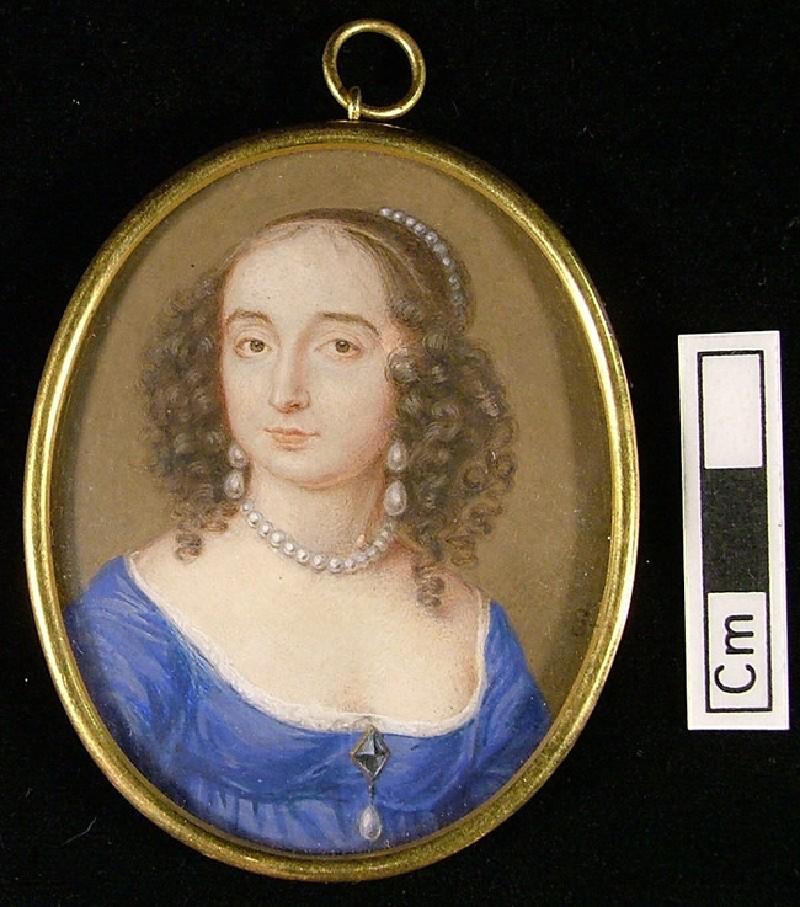 Lady in a Blue Dress (WA1897.38, record shot)