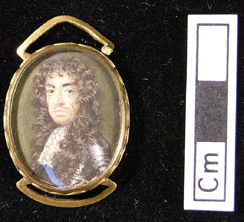 Portrait of King Charles II (WA1897.46, record shot)