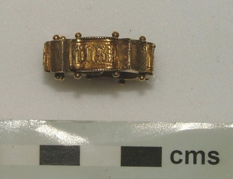 Ornamental ring (WA1897.CDEF.F390, record shot)