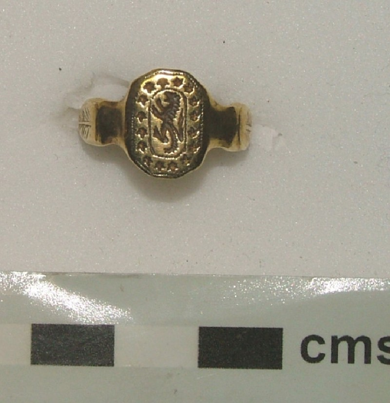 Signet ring (WA1897.CDEF.F395, record shot)