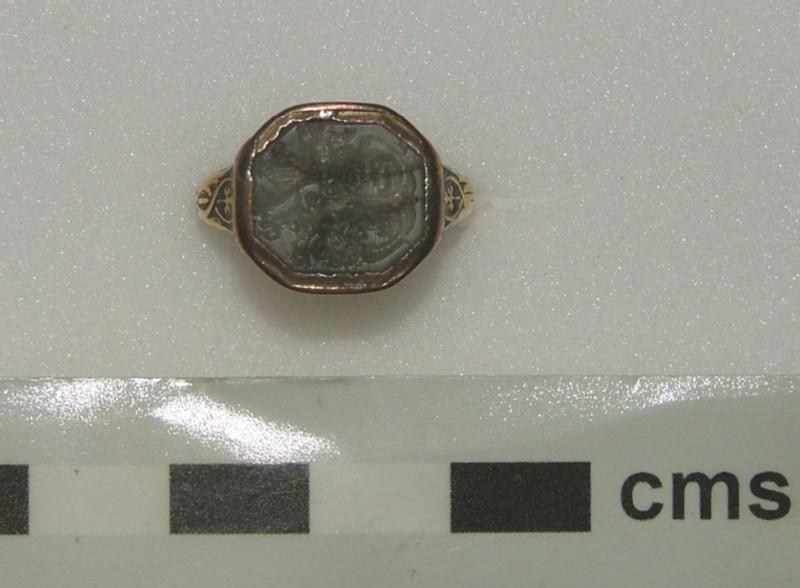 Signet ring (WA1897.CDEF.F514, record shot)