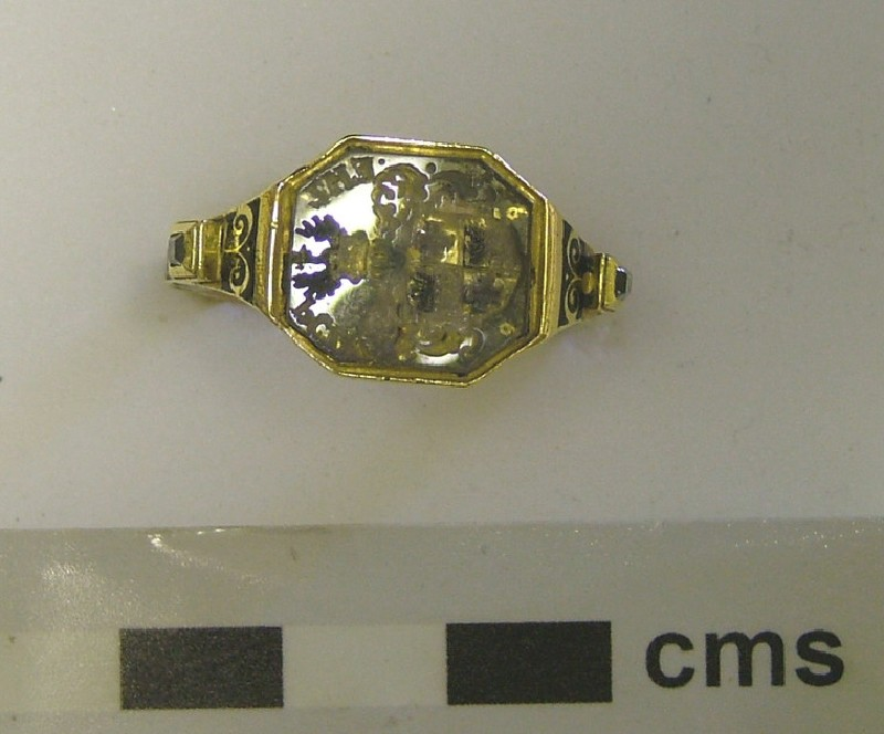 Signet ring (WA1897.CDEF.F515, record shot)