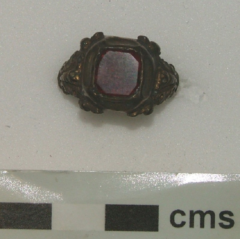Ornamental ring (WA1897.CDEF.F526, record shot)