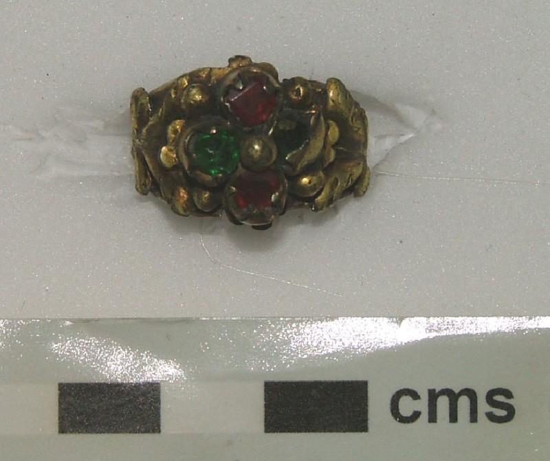 Ornamental ring (WA1897.CDEF.F529, record shot)