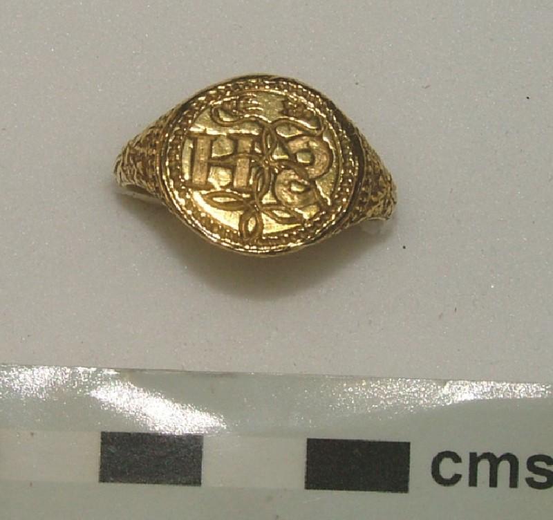 Signet ring (WA1897.CDEF.F597, record shot)