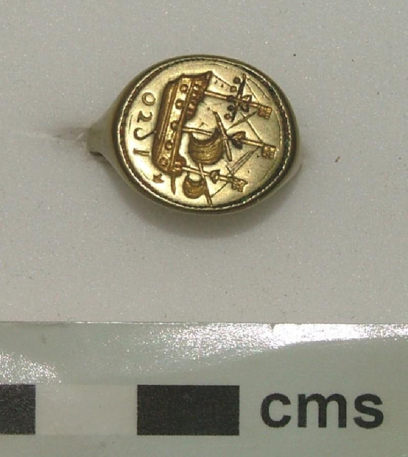 Signet ring (WA1897.CDEF.F603, record shot)