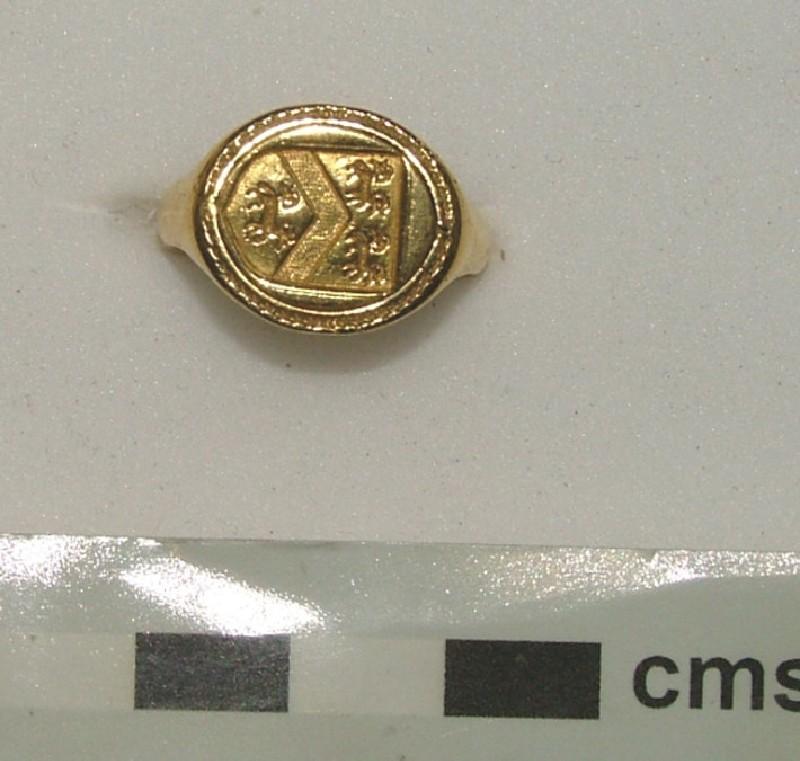 Signet and Memento Mori ring (WA1897.CDEF.F643, record shot)