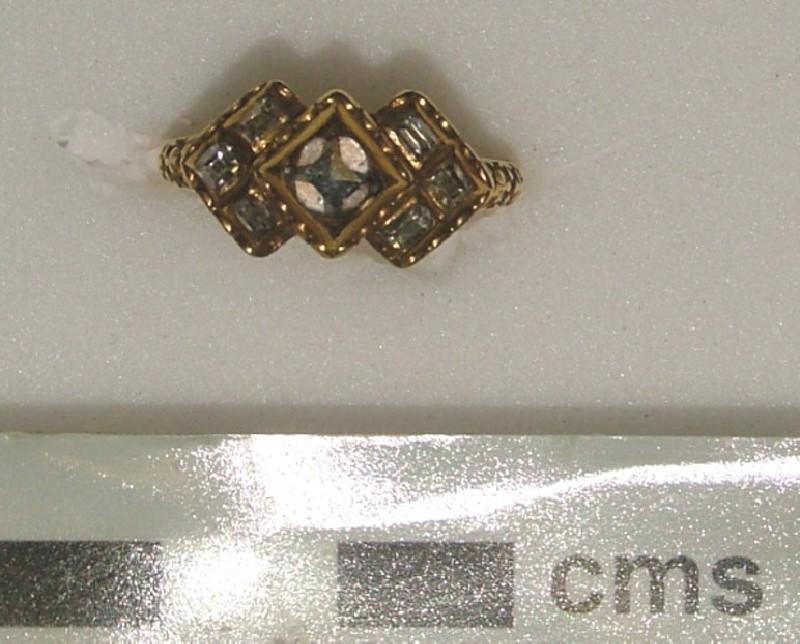 Ornamental ring (WA1897.CDEF.F818, record shot)