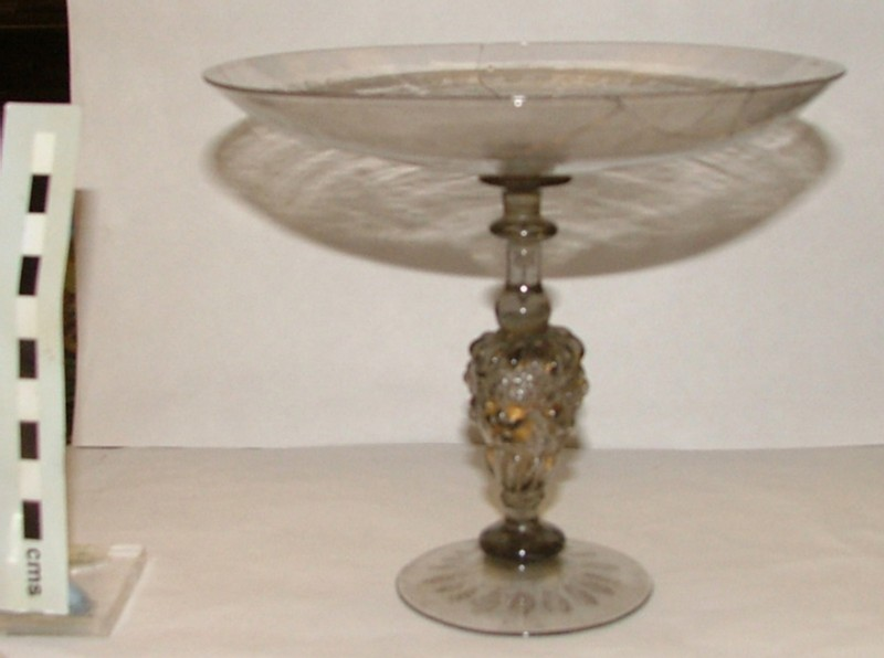 Diamond-engraved drinking tazza (WA1899.CDEF.G42.2, record shot)