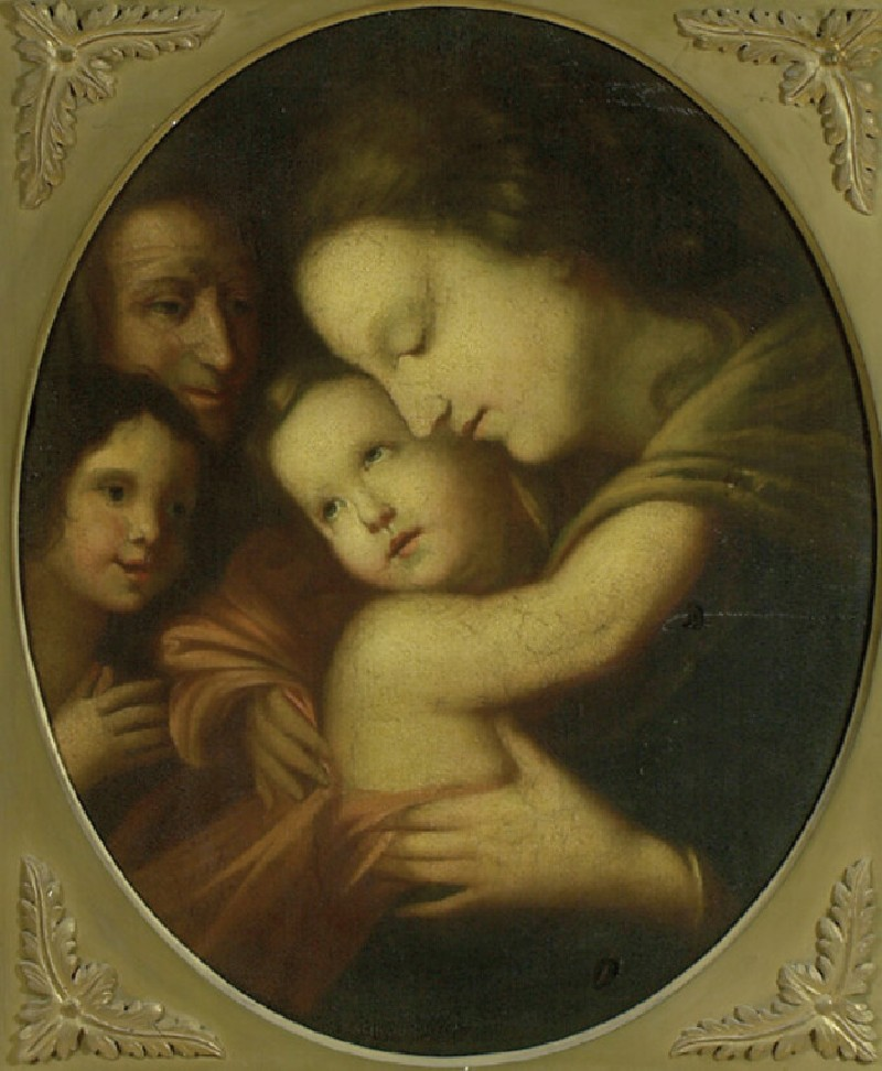 The Virgin and Child with the young St John the Baptist and St Anne or St Elizabeth