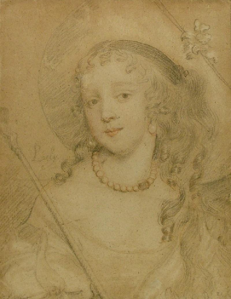 Portrait of a Lady as a Shepherdess (WA1913.10, record shot)