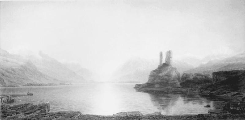 Kyleakin Castle, Isle of Skye (WA1915.32, record shot)