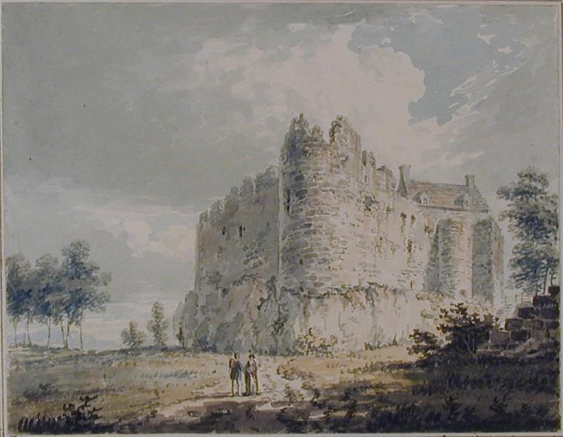Dunstaffage Castle, Argyleshire (WA1916.27, record shot)