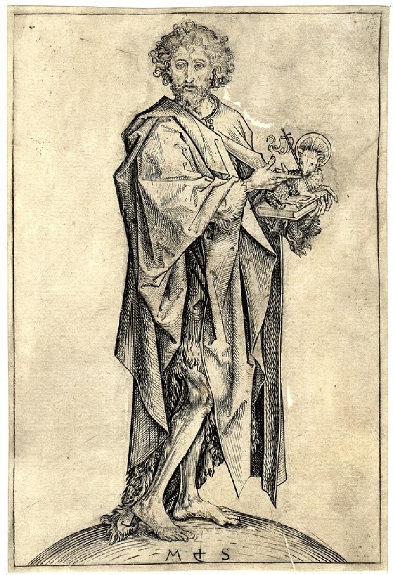 Saint John the Baptist (WA1917.23, record shot)
