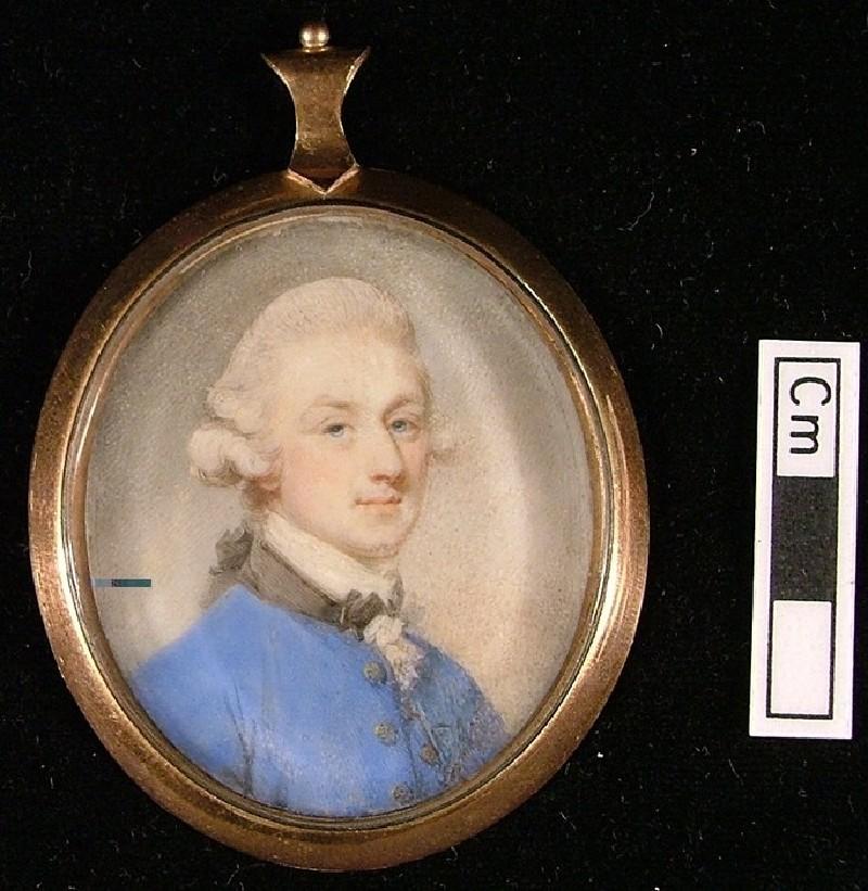 Portrait of a Gentleman in a Blue Coat