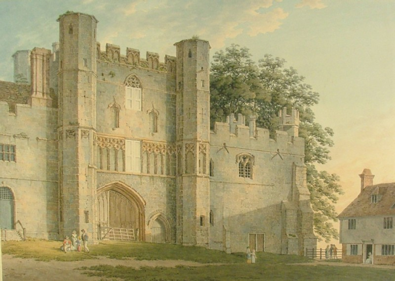 The Gatehouse of Battle Abbey (WA1924.9.346, record shot)