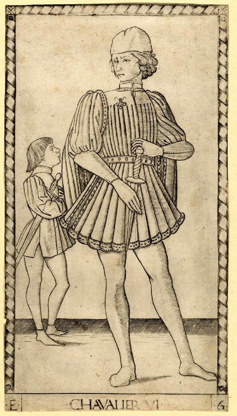 The Knight (Chavalier VI) (WA1931.68, record shot)