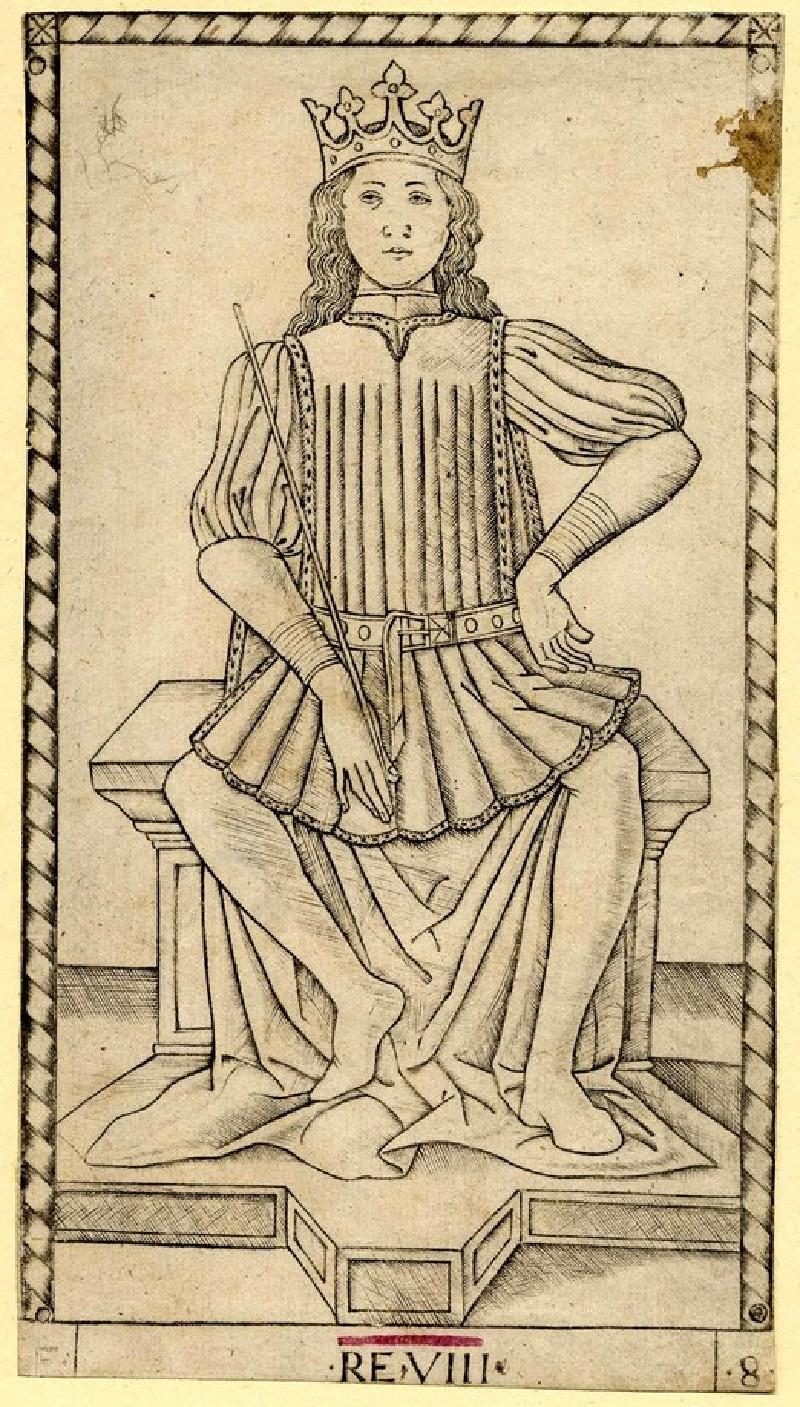The King (RE VIII) (WA1931.69, record shot)