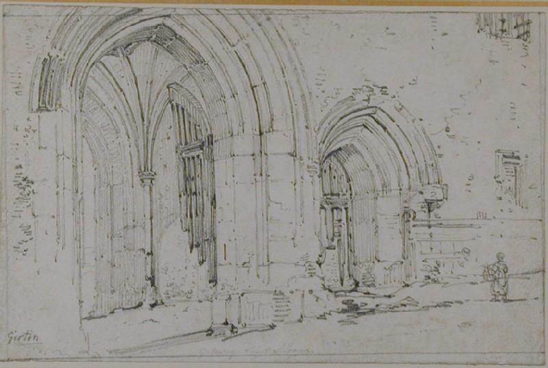 The Abbey Gatehouse at St Albans (WA1934.135, record shot)