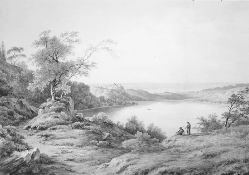 Lake of Albano