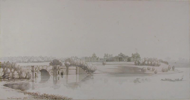 Distant View of Blenheim Palace (WA1935.43, record shot)