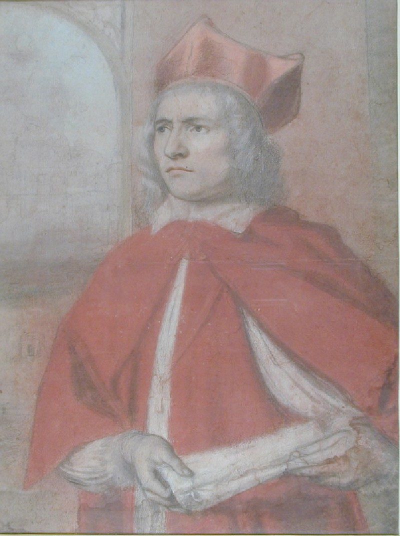Portrait of Henry Harris as Cardinal Wolsey (WA1940.44, record shot)