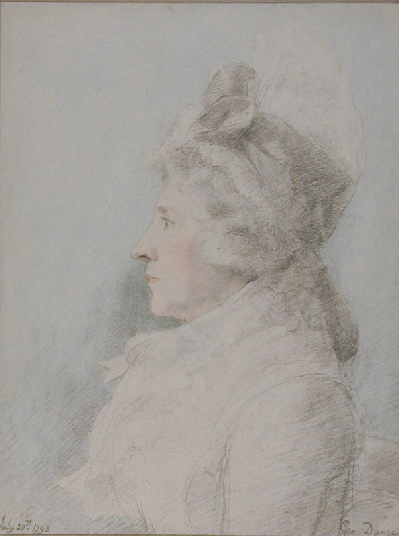 Portrait of an unknown Lady (WA1941.169, record shot)